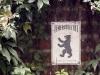 © W. Bentz - Schild Feuersoziotät mit Bär