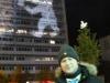 Berliner Verlag am Alexanderplatz Oliver Bienkowski mit seiner Lichtinstallation