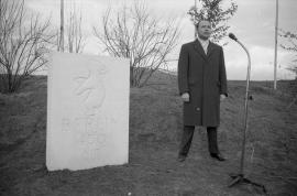Fuldaer Oberbürgermeister Dr. Alfred Dregger und Berlins Bürgermeister Franz Amrehn Foto © Hubert Weber, Fotograf 1960