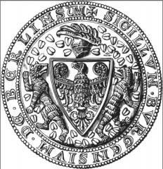 1280 – Siegel auf einem Gildebrief der Berliner Kürschner