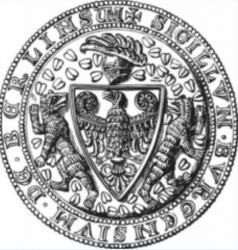 1280 Berliner Bär auf dem Siegel der Kürschnergilde