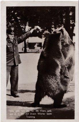 1940 Vreni und Urs © AK Sammlung privat Christa Junge