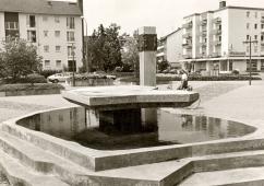 Foto © Stadtarchiv Speyer, Berliner Platz Bärenbrunnen