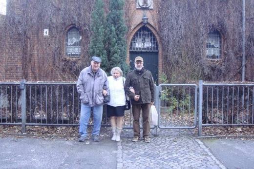 Jürgen Bathe, Christa Junge & Dieter Lange Foto © Berliner Bärenfreunde e.V.