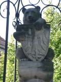 Gründungsbrunnen vor Nikolaikirche mit Berliner Bär © Christa Junge