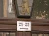 ehem. Standort des Berl. Wasserstraßen Hauptamtes in der Poststraße 21-22, Laterne mit Berliner Bär seit 2015 verschwunden © Christa Junge
