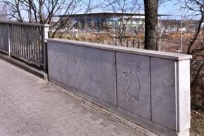 Berliner Brücke mit Berliner Bär Foto © Lars Landmann, Wolfsburg