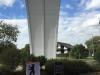 25.09.2015  1h vor Enthüllung des historischen Berliner Meilensteins von 1958 in Frankfurt © Michael Dam