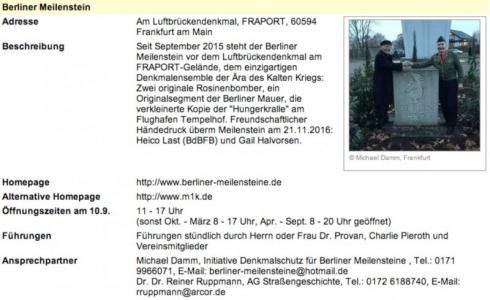 2017 Denkmaltag Frankfurt BM