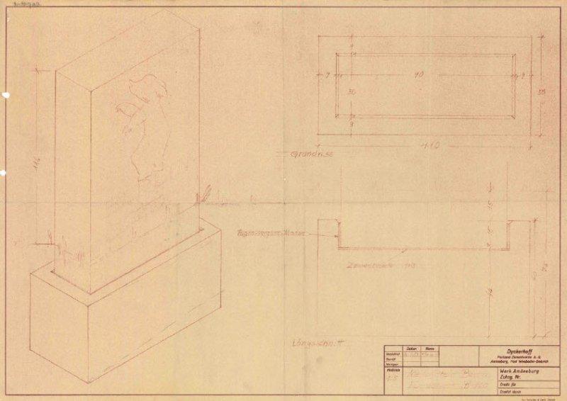 geschichte der berliner meilensteine von 1954 an westdeutschen autobahnen kleindenkmale aus der. Black Bedroom Furniture Sets. Home Design Ideas