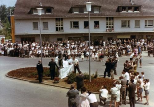 17. Juli 1962, der verhüllte Berliner Bär Foto Privat © Andreas Arnold