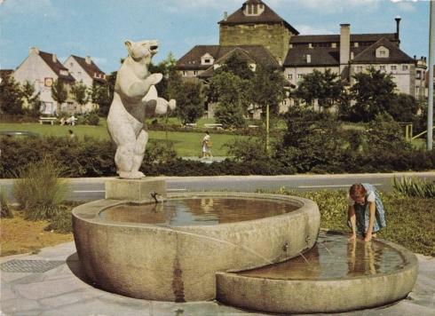 1967 Heilbronn am Neckar – Berliner Platz, Cramers Kunstanstalt KG, Dortmund Privatsammlung Christa Junge