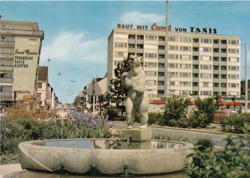 Heilbronn am Neckar – Berliner Platz, Hersteller & Verlag, Schöning & Co. Lübeck Privatsammlung Christa Junge