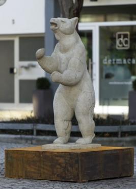 Berliner Bär vor dem Theater © 2017 Pressestelle Heilbronn