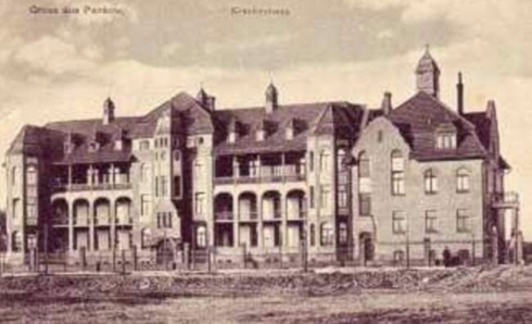 Gemeindekrankenhaus Pankow, 1905