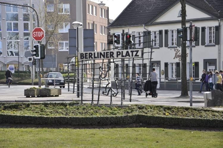 Berliner Platz 2013 © Stadtarchiv Langenfeld/ Rhld.