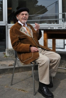 2014 Herbert Holewa, Gast beim Internationalen Bildhauersymposium des Kunstvereins Langenfeld © Beate Domdey-Fehlau