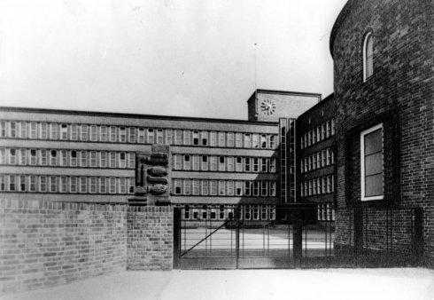 1930-1932 Hofeingang Foto © Museum Pankow