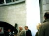 1997, Regierender Bürgermeister von Berlin Herr Diepgen bei der Übergabe der Bärenköpfe, Foto Herr Barthe