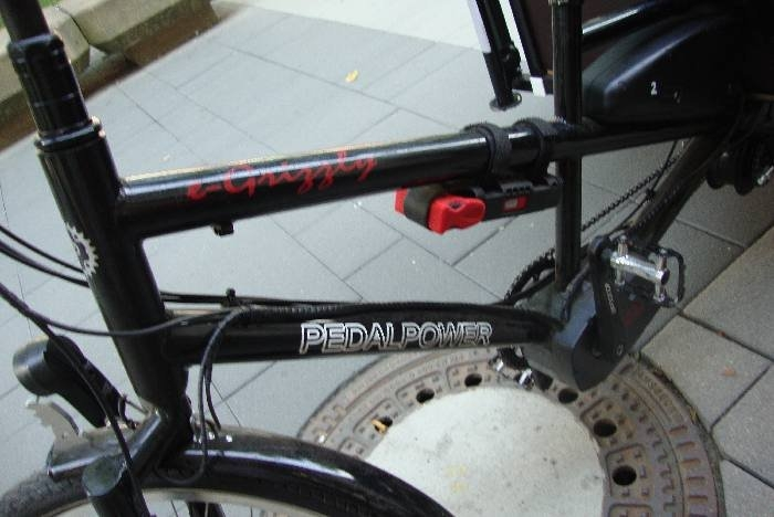 PEDALPOWER e-Grizzly  © Christa Junge