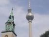 Berliner Fernsehturm und Marienkirche - Foto © Christa Junge