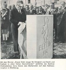 Einweihung BM Wolfsburg 1960  © Stadt Wolfsburg, Freigabe durch Heico Last, ehem. Präsident des BdBFB, 2015