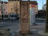Denkmal Berliner Platz, Rückseite Februar 2018, Aufnahme M. Teubert
