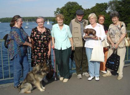 Mitglieder und Freunde der Berliner Bärenfreunde e.V.